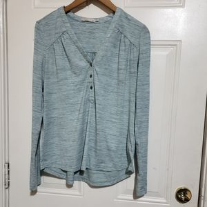 3 for $30❤ Prana long sleeve front button top
